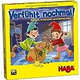 HABA 304508 - Verfühlt nochmal!, Fühlspiel für Kinder ab 3 Jahren, Lernspiel mit Holzteilen schult spielerisch die Feinmotorik, Neuauflage des Lernspiel-Klassikers