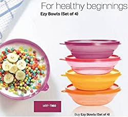 Tupperware Ezy Cereal Bowls