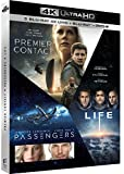Coffret : Premier contact + Passengers + Life - Origine inconnue [4K Ultra HD + Blu-ray + Digital UltraViolet]