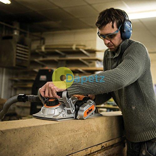Daptez ® 1500W Triple Blade Planer 180mm Woordwork Construction DIY Tpl180 Triton