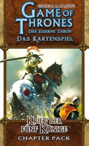 Heidelberger HEI0313 - Der Eiserne Thron LCG: Krieg der 5 Könige (Gekreuzte Klingen 1) (Krieg Haus)