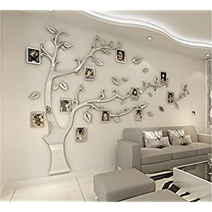 Wanddeko silber deine - Wandschmuck wohnzimmer ...