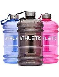Waterjug / Trinkflasche / Wasserflasche [2,2 Liter] - Die ideale Trinkflasche für dein Training, die Arbeit oder Unterwegs - ATHLETIC AESTHETICS