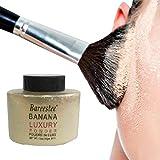 KAYI Breathable Öl-Controlling Make-up-Finishing-Pulver Anti-Schweiß Langlebiges lose Pulver (Beige)