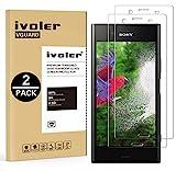 iVoler [Pack de 2] Verre Trempé Sony Xperia XZ1, Film Protection en Verre trempé écran Protecteur vitre