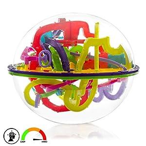 Silica- Maze Ball, Multicolor (DMX106)