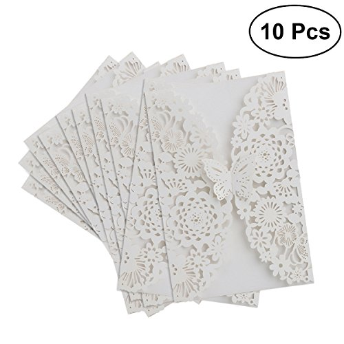 TOYMYTOY 10pcs Faire part mariag...