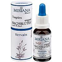 MirianaFlowers Vervain 20ml Bachblüten Stockbottle preisvergleich bei billige-tabletten.eu