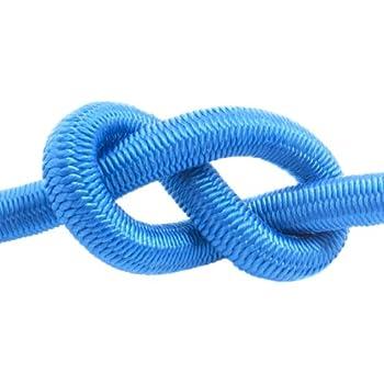 plusieurs tailles et couleurs 20m corde /élastique c/âble 8mm noir