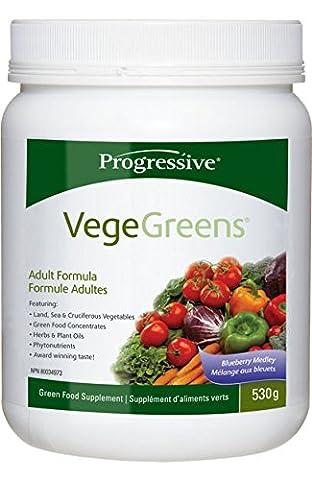 Progressive VegeGreens 530g - Blueberry Medley