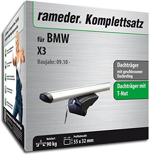 Rameder Komplettsatz, Dachträger Pick-Up für BMW X3 (111287-08763-13)