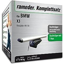 Dachtr/äger VIVA2 f/ür BMW X3/ab 2010,/2011,/2012,/2013,/2014,/2015,/2016 Schwarz