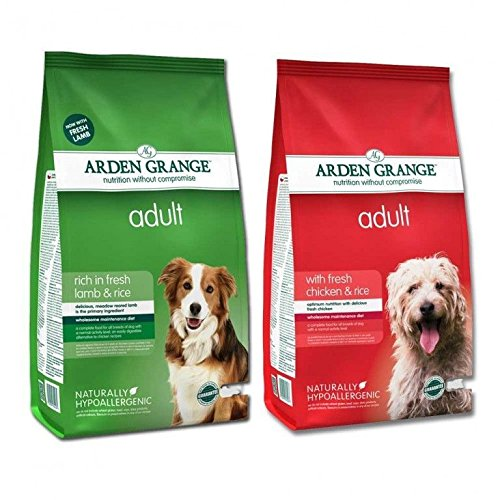 Arden Grange Huhn & Lamm Multi Buy Adult Hundefutter–12kg-Beutel