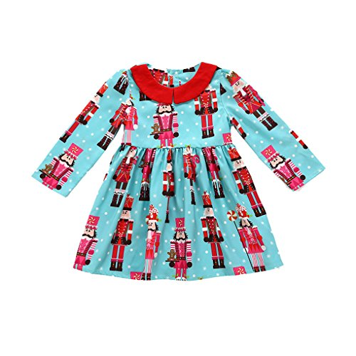 Tier Halloween Kostüme 3t (JYJMToddler Kids Baby Girls Cartoon Princess Party Dress Christmas Outfits Clothes (Größe: 5Jahr,)