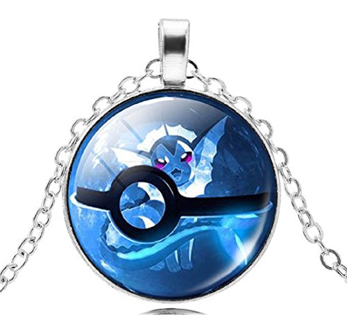 Pkmn2 - Collar De Bolas Pokemon Empujará 'Pokeball En 6 Colores (Azul)