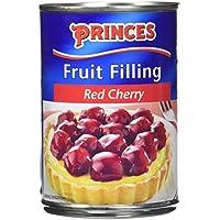 Princes Garniture aux Fruits Cerise 410 g - Lot de 3