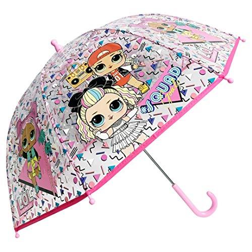Paraguas Transparente niña LOL Surprise Let`s be