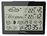 Technoline WS 6760  Weather Station and Radio Controlled Clock timing signal from Frankfurt Germany