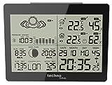 GARNI WS 6760 estación metereológica - Estación meteorológica (Negro, Color blanco, 14,700 cm, 10,900 cm, 4,500 cm)