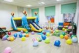 Interior of room, de remo camas elásticas, para niños de cumpleaños o de fiesta (79834470), lona, 110 x 70 cm