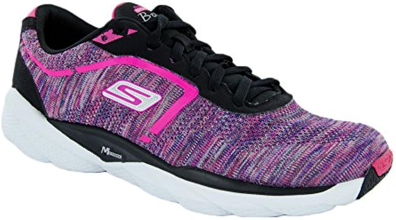 Skechers Go Run Bolt donna Running scarpe nero Multi 6 | Exit  | Scolaro/Ragazze Scarpa