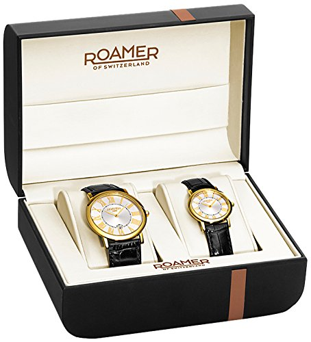Roamer of Switzerland Unisex Limelight Set Black Quartz Watch 934000 41 51 SE