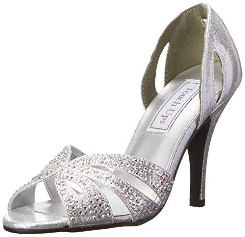 Touch Ups Damen Poise, Silber, 38.5 EU Touch-ups Low Heel Heels