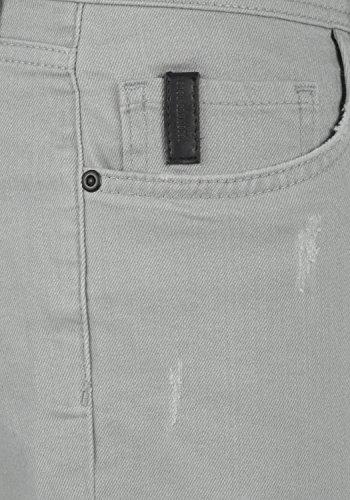 REDEFINED REBEL Monfire Herren Jeans-Shorts kurze Hose Denim aus hochwertiger Baumwollmischung Light Grey