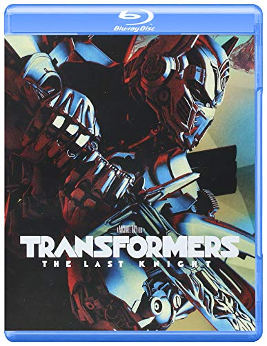 TRANSFORMERS: The Last Knight - STEELBOOK (Blu-ray + Blu-ray Bonus Disc) English, Spanish, French & Portuguese Audio & Subtitles - IMPORT