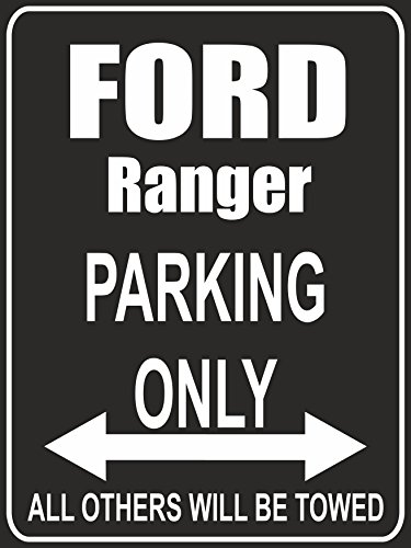 pema-parkplatz-parking-only-ford-ranger-parkplatzschild