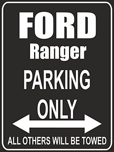 indigos-ug-parkplatz-parking-only-ford-ranger-parkplatzschild