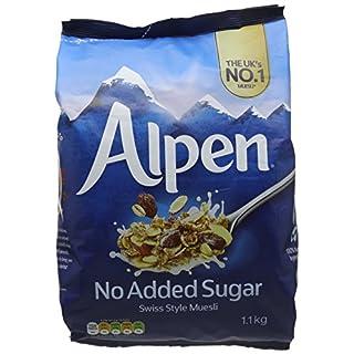 Alpen No Added Sugar Muesli 1.1 kg (Pack of 6)