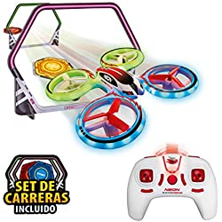 World Brands Neon Racing (Xtrem Raiders) Mini Carreras Juguete Regalo para niños, Nano Drone, Color Verde XT280745
