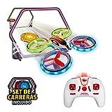World Brands- Neon Racing (Xtrem Raiders) Mini Carreras Juguete Regalo para niños, Nano Drone, Color Verde (XT280745)