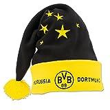 BVB Borussia Dortmund Nikolausmütze (schwarz/gelb, one size)