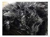 Fabrics-City % MAUSGRAU TEDDY LANGHAAR FELL STOFF FELLIMITAT STOFFE, 2709
