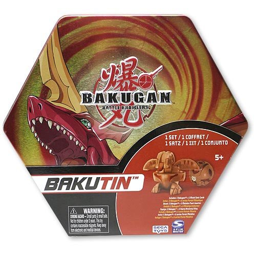 Bakugan Bakutin Pyrus (Red) - Includes 2 Exclusive Flip Attribute Bakugan by Bakugan