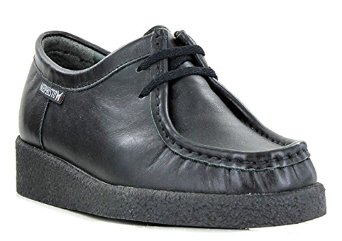 Mephisto-Chaussure Lacet-CHRISTY Noir verni 1000-Femme Noir c