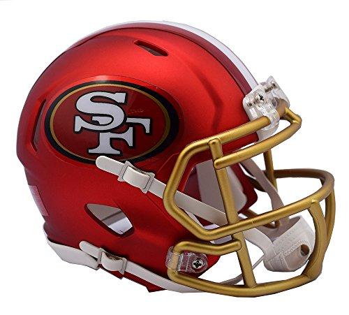 "Riddell """" San Francisco 49ers Blaze Speed Helm, rot, Mini"