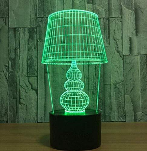 Usb Qixian Nightlight Poche Nachtlicht Wandleuchte Led Sleeping Tactile Tischlampe 3d De Lampe À Baby 7 wPn08NOkX