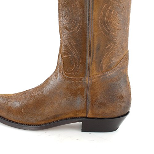 Tony Mora  3389, Bottes et bottines cowboy mixte adulte Marron - Tabaco