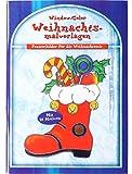 Window Color Buch -Weihnachtliches- mit 26 Vorlagen