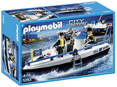 Playmobil City Action - Lancha de vigilancia (5263) de Playmobil