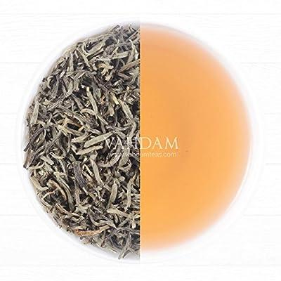 Weiße BIO Tee Blätter aus Darjeeling (25 Tassen), Direkt aus dem Okayti Tee Estate, Weißer Loose Leaf (Loose Blätter), reich an natürlichen Antioxidantien, Weißer BIO Tee - Der Champagner der Tees - 50g von Vahdam Teas auf Gewürze Shop