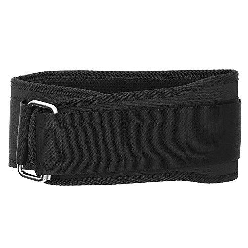 Samtlan Cintura di Sostegno per Cintura Lombare, Dolore Lombare del Lavoro di Esercizio di Sport Tozzo di Sollevamento Pesi per Allenamento di Sollevamento Pesi, Nero (XL)