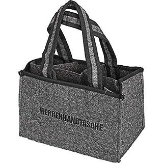 all-around24® Felt bottle bag Men Hand bag-Bottle Bag Felt Bag, Bottle Basket Carrier as gift packaging
