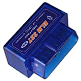 #10: Generic Blue: New Mini OBD V2.1 ELM327 OBD2 Bluetooth Auto Scanner OBD II 2 Car ELM 327 Tester Diagnostic Tool for Android Windows Symbian