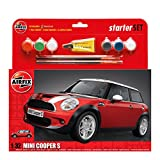 Airfix A50125 MINI COOPER S Mini 1:32 Scale Model Large Starter Set