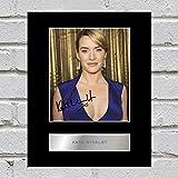 Kate Winslet Signiert Foto Display