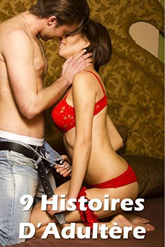 Couverture du livre 9 Histoires d'Adultère
